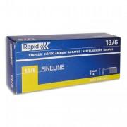 RAPID Agrafes Nº13/6 en boîte de 5000 - Rapid