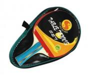 Raquette de ping-pong avec housse de protection - Poids (g) : 155