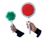 Raquette lumineuse à LED - Diamètre (mm) : 180