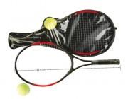 Raquettes de tennis pour débutant - Contenance : 2 raquettes - 1 balle de tennis