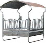 Râtelier chevaux - 12 passages de tête - 100% galvanisé