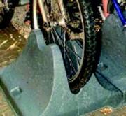 Ratelier pour vélo - En plastique recyclé