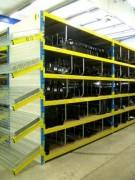 Rayonnage à longerons fixe garagiste - Rayonnage métallique Profilcase