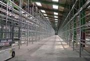 Rayonnage à palette galvanisé - Capacité de charge : de 500 à 5000 kg par niveau
