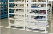 Rayonnage à tiroirs combi - Dimensions (L x P x H) mm : De 2200 x 2180  x 2170 à 6200 x 4180  x 2170