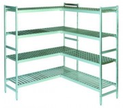 Rayonnage alimentaire pour chambres froides - Dimensions (L x P x H) mm : 660 x 360 x 1685