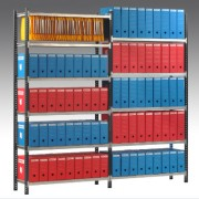 Rayonnage archive longueur tablette 1250 mm - Longueur des tablettes : 900, 1000, 1250 mm.