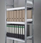 Rayonnage archives en acier galvanisé - 3 ou 5 éléments