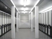 Rayonnage archives mobile économique - Stockage longitudinal