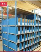 Rayonnage boites de rangement - Stockage de pièces légères