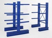 Rayonnage cantilever fixe photo - Rayonnage métallique Profiltol