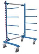 Rayonnage cantilever mobile - Capacité de charge : 400 kg