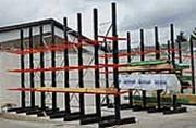Rayonnage cantilever pour charges longues - Pour stockage palettes, fardeaux et charges lourdes