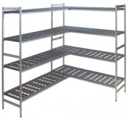 Rayonnage chambre froide - 3 profondeurs disponibles : 360 - 460 - 560 mm