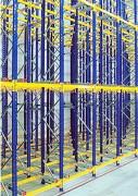 Rayonnage dynamique Flow-Rail - Charge maximale : Jusqu'à 140 kN (14000 kg)