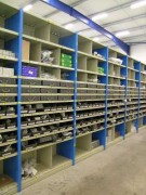 Rayonnage évolutif fixe concessionnaire - Rayonnage métallique Profiltol