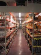 Rayonnage fixe à fonds croisillons - Rayonnage métallique Profiltol