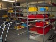 Rayonnage fixe à palettes pour administration - Longerons réglables tous les 50 mm