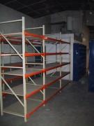 Rayonnage fixe bâtiment à longerons - Rayonnage métallique Profilcase