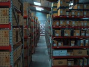 Rayonnage fixe industrie en acier - Rayonnage métallique Profilcase
