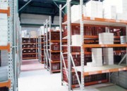 Rayonnage fixe métallique papèterie - Rayonnage métallique Profilcase
