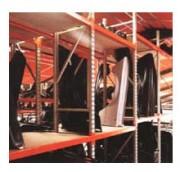 Rayonnage fixe pour carosserie automobile - Rayonnage métallique Profilcase
