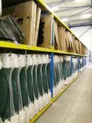 Rayonnage fixe pour pare-brises - Rayonnage métallique Profilcase