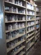 Rayonnage fixe pour peinture - Rayonnage métallique Profiltol