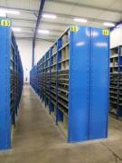 Rayonnage fixe pour petites pièces mécaniques - Rayonnage métallique Profiltol