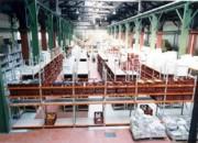 Rayonnage fixe pour ramettes de papier - Rayonnage métallique Profilcase