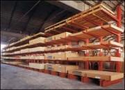 Rayonnage industriel lourd - Hauteur : de 300 à 600 cm - Profondeur : de 60 à 200 cm