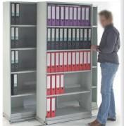 Rayonnage latéral tôlé sur-mesure - Idéal pour le classement de bureaux