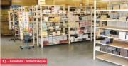 Rayonnage léger bibliothèque - Poids supporté par niveau : 250 kg