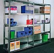 Rayonnage léger en acier galvanisé - Pour archives et magasins