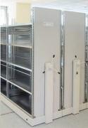 Rayonnage léger mobile 4000 Kg - Charge maximale : Jusqu'à 40 kN (4 000 kg)