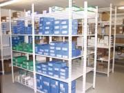 Rayonnage léger pharmacie clinique - Stockage de pièces légères