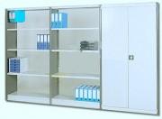 Rayonnage léger tôlé de bureau - Capacité de charge maximum : de 105 à 129 Kg