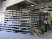 Rayonnage métallique fixe industrie - Rayonnage métallique Profilplus