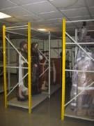 Rayonnage métallique fixe musée - Rayonnage métallique Profilcase