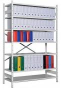 Rayonnage métallique léger charge 90 Kg par niveau - Capacité de charge : 90 kg par niveau