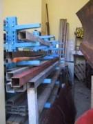 Rayonnage metallique pour matériaux de bâtiments - Rayonnage métallique Cantilever