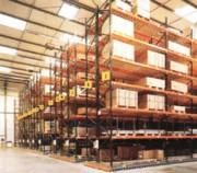 Rayonnage métallique profilrack pour palette industrie - Rayonnage métallique Profilrack