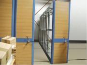 Rayonnage mobile d'archivage - Capacité de charge : Jusqu'à 900 kg par base