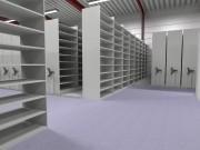 Rayonnage mobile d'archivage - Grande sécurité d'utilisation