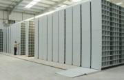 Rayonnage mobile électrique atelier - Pour atelier - Charges lourdes