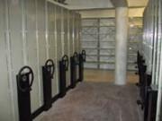 Rayonnage mobile métallique douane - Profiltol sur mobile mécanique