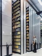 Rayonnage mobile mi-lourd pour bureau - Gain d'espace de stockage : jusqu'à 200%