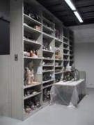 Rayonnage mobile Profilcase objet art - Rayonnage métallique Profilcase