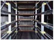 Rayonnage par accumulation - Stockage dynamique