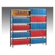 Rayonnage peint d'archives - Largeur standard : 1000 ou 1250 mm